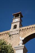 France. Bouches du Rhone.aqueduc in St Chamas  France  / aqueduc a Saint Chamas Bouches du Rhone etang de Berre.