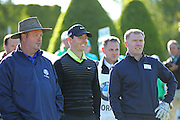 Northern Ireland's Rory McIlroy AND Paul Scholes at the BMW PGA Championship Celebrity Pro-Am Challenge at the Wentworth Club, Virginia Water, United Kingdom on 20 May 2015