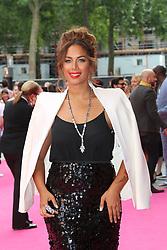 © Licensed to London News Pictures. 11/06/2014, UK. Leona Lewis, Walking On Sunshine - World Film Premiere, Vue West End Leicester Square, London UK, 11 June 2014. Photo credit : Richard Goldschmidt/Piqtured/LNP