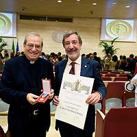 Medaglia d'oro al merito alla Caritas di Roma