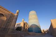 Uzbekistan, Khiva, Ichon-Qala.<br /> Kalta Minor Minaret.