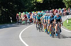 06.07.2017, Kitzbühel, AUT, Ö-Tour, Österreich Radrundfahrt 2017, 4. Etappe von Salzburg - Kitzbüheler Horn (82,7 km/BAK), im Bild Markus Eibegger (AUT, Team Felbermayr Simplon Wels), Johannes Schinnagel (GER, Team Felbermayr Simplon Wels), Feature, Peloton // Markus Eibegger (AUT, Team Felbermayr Simplon Wels), Johannes Schinnagel (GER, Team Felbermayr Simplon Wels), Feature, Peloton during the 4th stage from Salzburg - Kitzbueheler Horn (82,7 km/BAK) of 2017 Tour of Austria. Kitzbühel, Austria on 2017/07/06. EXPA Pictures © 2017, PhotoCredit: EXPA/ JFK