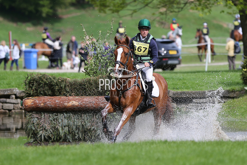 Sacha Hourigan (IRE) riding Themis during the International Horse Trials at Chatsworth, Bakewell, United Kingdom on 12 May 2018. Picture by George Franks.