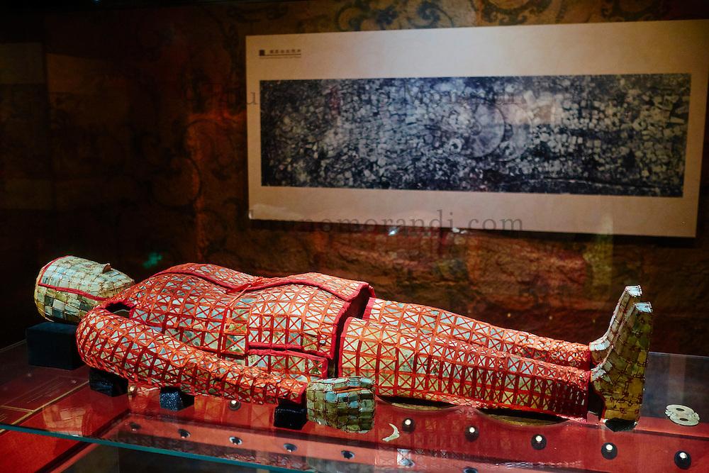 Chine, Guangdong, Guangzhou ou Canton, mausolée du Roi du Nanyue, Zhao Mo // China, Guangdong province, Guangzhou or Canton, mausoleum of the Nanyue king, Zhao Mo