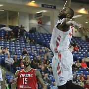 Delaware 87ers Forward Kenny Hall (33) drives towards in the first half of a NBA D-league regular season basketball game between the Delaware 87ers and the Rio Grande Valley Vipers (Houston Rockets) Saturday, Dec. 27, 2014 at The Bob Carpenter Sports Convocation Center in Newark, DEL