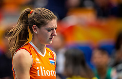 19-10-2018 JPN: Semi Final World Championship Volleyball Women day 18, Yokohama<br /> Serbia - Netherlands / Anne Buijs #11 of Netherlands