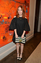 ANGELA SCANLON at the Creme de la Mer Blue Marine Foundation Dinner held at The Arts Club, 40 Dover Street, London on 23rd June 2015.
