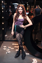 ELIZA DOOLITTLE at a party hosted by InStyle to celebrate the iconic glamour of Dolce & Gabbana held at D&G, 6 Old Bond Street, London on 3rd November 2010.