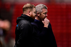 Willie Kirk head coach of Everton Women- Mandatory by-line: Ryan Hiscott/JMP - 17/02/2020 - FOOTBALL - Ashton Gate Stadium - Bristol, England - Bristol City Women v Everton Women - Women's FA Cup fifth round