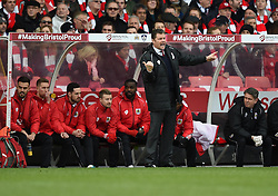 Bristol City manager Steve Cotterill on the side line at Ashton Gate for the FA Cup fourth round tie against West Ham United - Photo mandatory by-line: Paul Knight/JMP - Mobile: 07966 386802 - 25/01/2015 - SPORT - Football - Bristol - Ashton Gate - Bristol City v West Ham United - FA Cup fourth round
