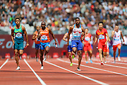 Men's 4x100m Relay during the Muller Anniversary Games 2019 at the London Stadium, London, England on 21 July 2019.