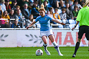 Manchester City Women defender Aoife Mannion (2) in action during the FA Women's Super League match between Manchester City Women and BIrmingham City Women at the Sport City Academy Stadium, Manchester, United Kingdom on 12 October 2019.