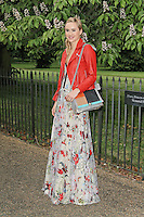 LONDON - JUNE 26: Suki Waterhouse attended the Serpentine Gallery summer party, Kensington Gardens, London, UK. June 26, 2012. (Photo by Richard Goldschmidt)