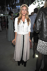 MARY CHARTERIS at the annual Serpentine Gallery Summer Party sponsored by Canvas TV  the new global arts TV network, held at the Serpentine Gallery, Kensington Gardens, London on 9th July 2009.