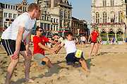 Beachvolleybal Mechelen 2012. Team Sodexo actie.