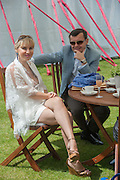 ALEXANDRA MAUERGRUZ; ALEXEI MAUERGRUZ;, Cartier Queen's Cup. Guards Polo Club, Windsor Great Park. 17 June 2012