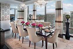 Turnberry Tower developed by Turnberry Associates 1881 Nash, Arlington, Virginia Turnberry Tower condominiums Dining Room