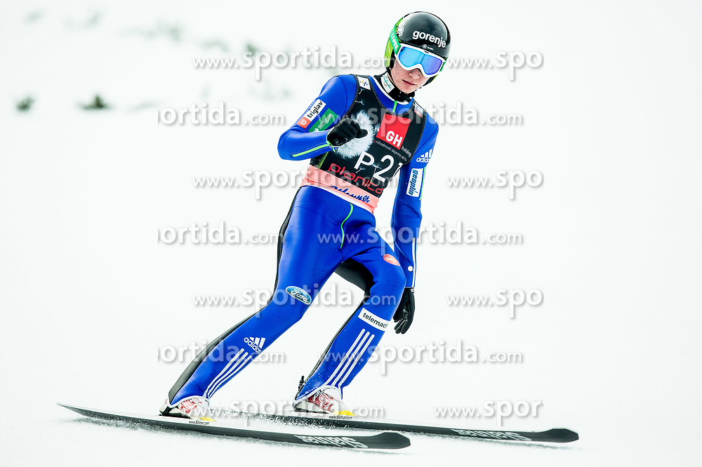 Fore jumper Anze Lanisek during the Ski Flying Hill Individual Competition on Day Two of FIS Ski Jumping World Cup Final 2017, on March 24, 2017 in Planica, Slovenia. Photo by Vid Ponikvar / Sportida