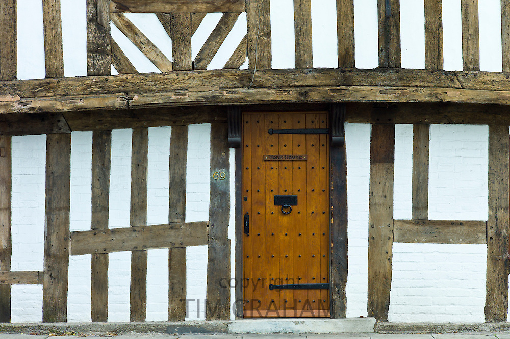 York House, Tudor style timber-framed house in Corve Street, Ludlow, Shropshire, UK