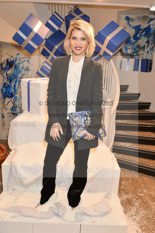 PIPS TAYLOR at a party to celebrate 'Kitmas' at Kit & Ace at 80-82 Regent Street, London on 9th December 2015.