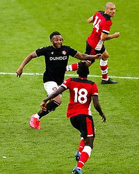 Kasey Palmer of Bristol City during a friendly match before the Premier League and Championship resume after the Covid-19 mid-season disruption - Rogan/JMP - 12/06/2020 - FOOTBALL - St Mary's Stadium, England - Southampton v Bristol City - Friendly.