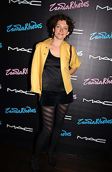 Chef THOMASINA MIERS at a party to celebrate Zandra Rhodes's return to London Fashion week and the launch of a limited edition of M.A.C makeup at Silver, 17 Hanover Square, London W1 on 20th September 2006.<br />