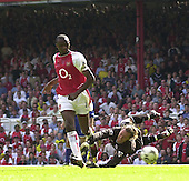 20040515 Arsenal vs Leicester, London, Premiership Football,