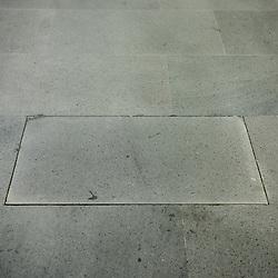Anteprima del nuovo Museo delle Culture - MUDEC a Milano <br /> Foto Piero Cruciatti / LaPresse<br /> 26-03-2015 Milano, Italia<br /> Cultura<br /> La pavimentazione del Museo, oggetto di polemiche poich&egrave; l&rsquo;architetto britannico David Chipperfield ha riscontrato divergenze tra il progetto da lui realizzato inizialmente e gli sviluppi dei lavori.<br /> <br /> Preview of the new Museo delle Culture - MUDEC in Milano<br /> Photo Piero Cruciatti / LaPresse<br /> 26-03-2015 Milan, Italy<br /> Culture<br /> The entrance flooring that British architect David Chipperfield, objects have been placed differently from the original project.