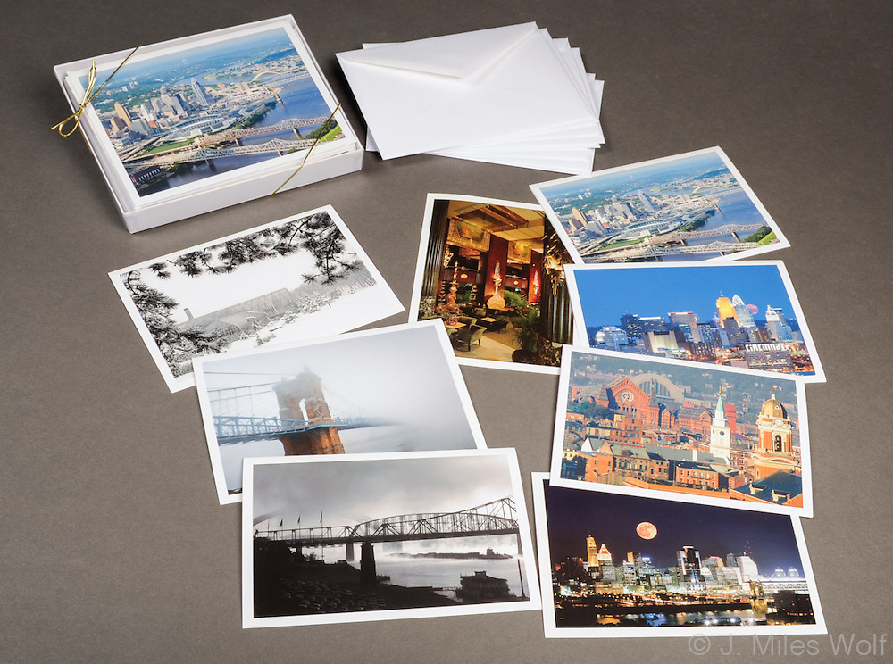 8 assorted note cards with envelopes