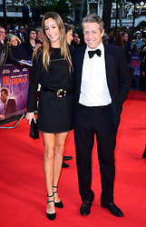 Anna Elisabet Eberstein and Hugh Grant attending the Closing Gala and International premiere of The Irishman, held as part of the BFI London Film Festival 2019, London.