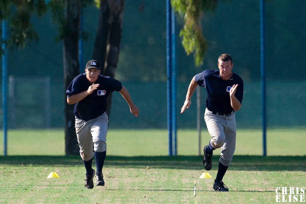 Baseball - MLB Academy - Tirrenia (Italy) - 19/08/2009 - Phillip Brenner (Austria), Enzo Muschik (Germany)