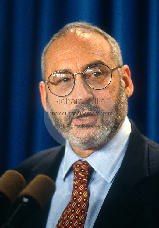 U.S. Economic advisor Joseph Stiglitz September 26, 1997 in Washington, DC.