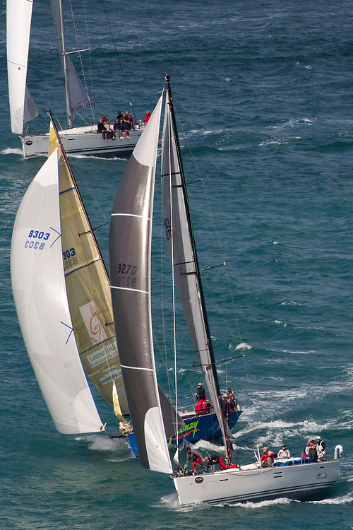 The annual Coastal Classic Yacht Race departs for the Bay of Islands, Auckland, New Zealand, Friday, October 25, 2013.  Credit:SNPA / David Rowland
