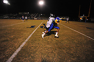 Oxford High's Robert Liggins (1) makes a catch vs. West Point in Oxford, Miss. on Friday, October 28, 2011. West Point won 31-21...