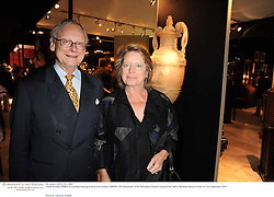 LORD &amp; LADY DEBEN at a preview evening of the annual London LAPADA (The Association of Art &amp; Antiques Dealers) antiques Fair held in Berkeley Square, London on 21st September 2010. *** Local Caption *** Image free to use for 1 year from image capture date as long as image is used in context with story the image was taken.  If in doubt contact us - info@donfeatures.com<br /> LORD &amp; LADY DEBEN at a preview evening of the annual London LAPADA (The Association of Art &amp; Antiques Dealers) antiques Fair held in Berkeley Square, London on 21st September 2010.