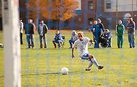 Varsity Soccer Gilford versus Raymond October 27, 2010.