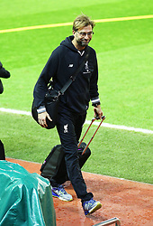 Liverpool Manager, Jurgen Klopp arrives at Anfield - Mandatory byline: Matt McNulty/JMP - 20/01/2016 - FOOTBALL - Anfield - Liverpool, England - Liverpool v Exeter City - FA Cup Third Round