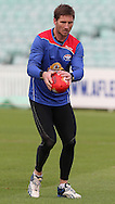 Picture by Paul Terry/SLIK images +44 7545 642257. 1st November 2012. .Matthew Boyd of Western Bulldogs during training session ahead of Saturday's Elastoplast AFL European Challenge at Kia Oval in London, UK