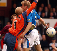 Hearts v Rangers, Scottish Premier League, Tynecastle Stadium, Edinburgh.<br />