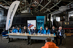 Press conference of OK Planica before FIS World Cup in Planica 2018, on March 14, 2018 in Slovenian Railway museum, Ljubljana, Slovenia. Photo by Urban Urbanc / Sportida