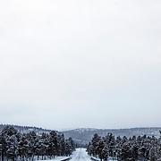 Road near Alta, Finnmark, Norway, Europe