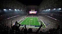 New England Patriots and Seattle Seahawks meet in Super Bowl XLIX at University of Phoenix Stadium on February 1, 2015<br /> Phoenix, AZ<br /> photo: Sean Ryan / NFL