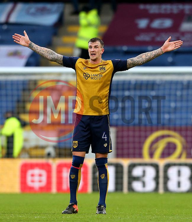 Aden Flint of Bristol City gestures - Mandatory by-line: Matt McNulty/JMP - 28/01/2017 - FOOTBALL - Turf Moor - Burnley, England - Burnley v Bristol City - Emirates FA Cup fourth round