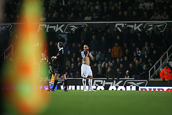 London, England - Tuesday, January 30, 2007: Liverpool against West Ham United's Nigel Quashie during the Premiership match at Upton Park. (Pic by Chris Ratcliffe/Propaganda)
