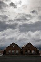 Cafe at Möðrudalur á Fjöllum, North Iceland. This farm lies the highest in Iceland, some 469 m above sea level. Möðrudalur á Fjöllum er bær á Möðrudalsöræfum á Norðurlandi eystra. Jörðin er ein sú landmesta á Íslandi og sú sem stendur hæst (469 metra yfir sjávarmáli).