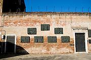 Italy, Venice, The Jewish Ghetto Holocaust Memorial
