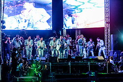 PICO RIVERA, CA - JULY 16: Banda Recodo performs live on stage during Dia Nacional de La Banda Festival at the Pico Rivera Sports Arena in Pico Rivera, California on May 12, 2017.  Byline, credit, TV usage, web usage or linkback must read SILVEXPHOTO.COM. Failure to byline correctly will incur double the agreed fee. Tel: +1 714 504 6870.