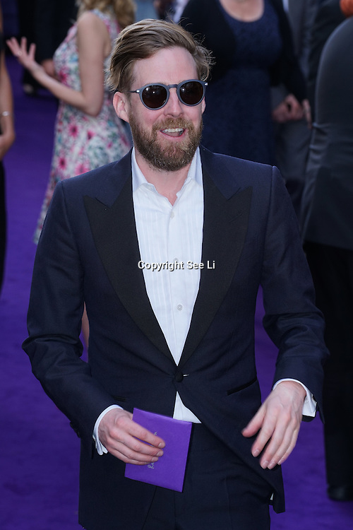 London,England,UK : 15 June 2016 : Ricky Wilson attend the Disney's Aladdin Opening Night at the Prince Edward Theatre on Old Compton Street, Soho, London. Photo by See Li