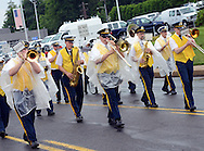 Members of the Tri County Band perform during the Lower Southampton Independence Day Parade Saturday July 4, 2015 in Feasterville, Pennsylvania. (Photo by William Thomas Cain)