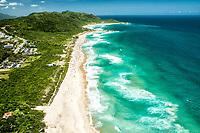 Vista aérea da Praia Mole. Florianópolis, Santa Catarina, Brasil. / Aerial view of Mole Beach. Florianopolis, Santa Catarina, Brazil.